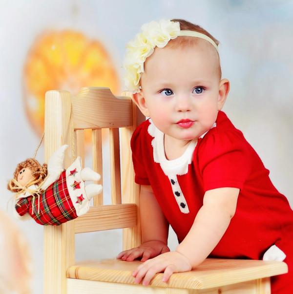 vianočné fotenie detí